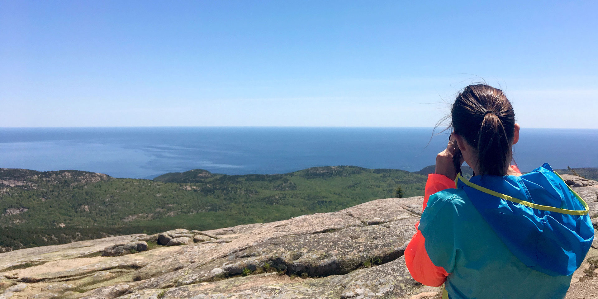 Amy Picciotto at Acadia National Park