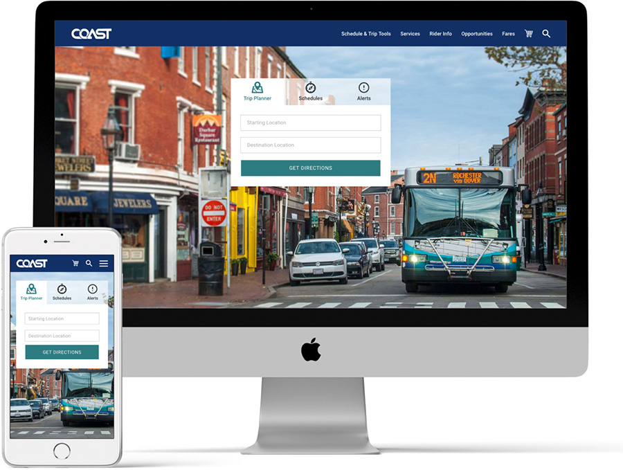 COAST Bus Home Page