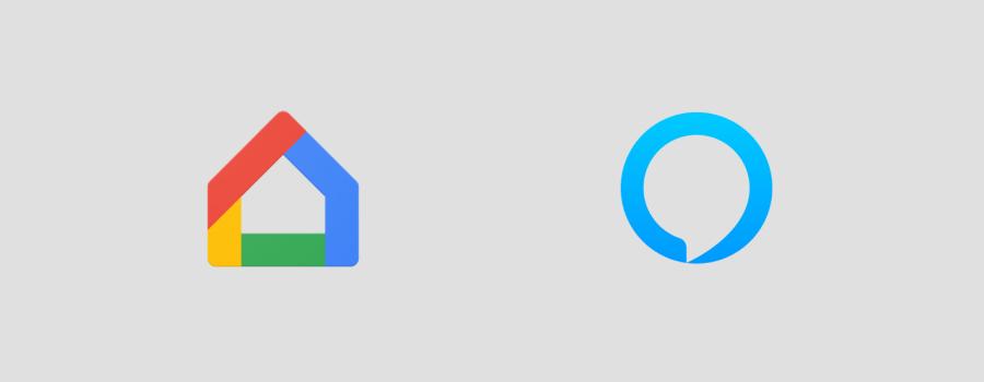 Google Home and Alexa Logos
