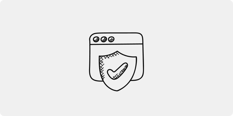 hand-drawn trust graphic