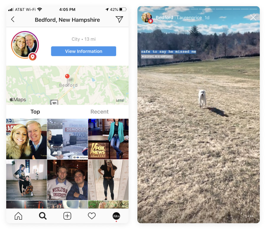 Instagram Stories from Bedford, NH