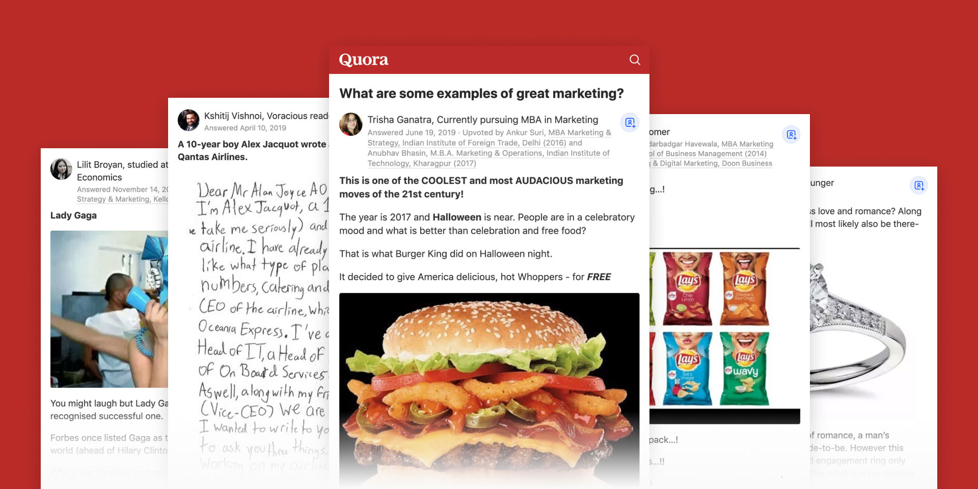 Quora marketing examples
