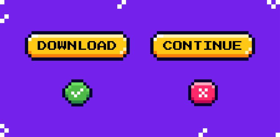 Button Language compared