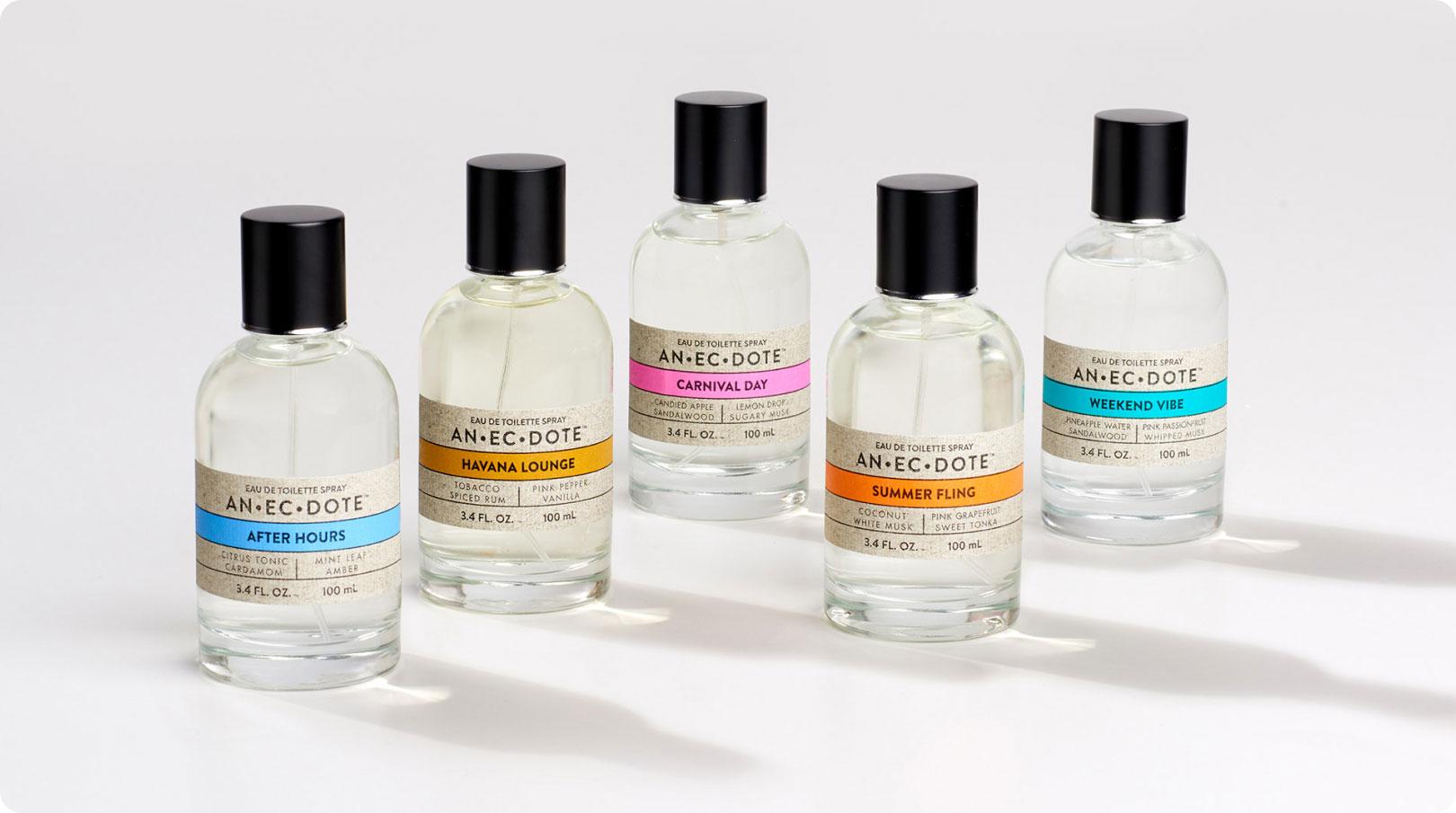 Anecdote Fragrances - Bottles