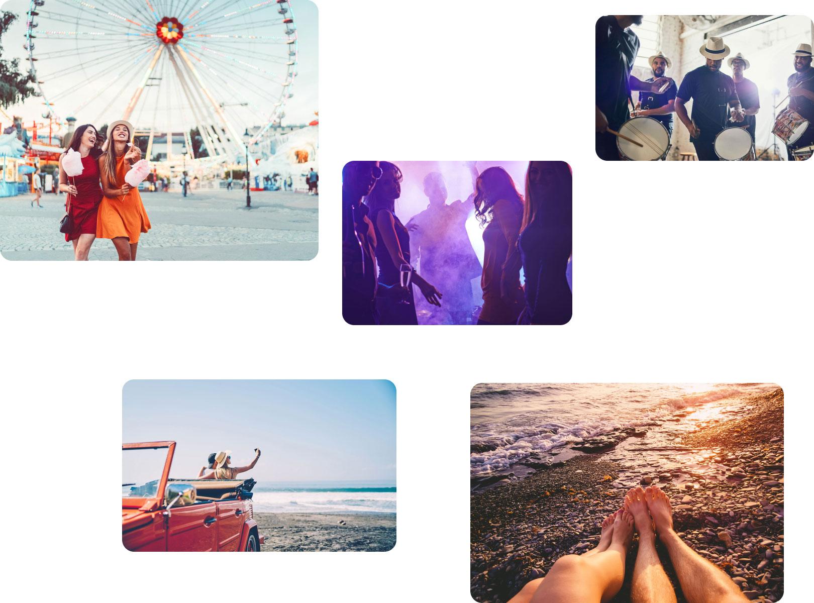 Anecdote Fragrances Collage of Photos
