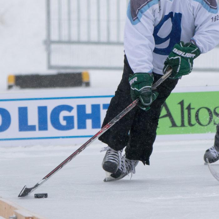 Black Ice Pond Hockey
