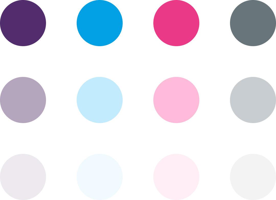 ClueJay color palette