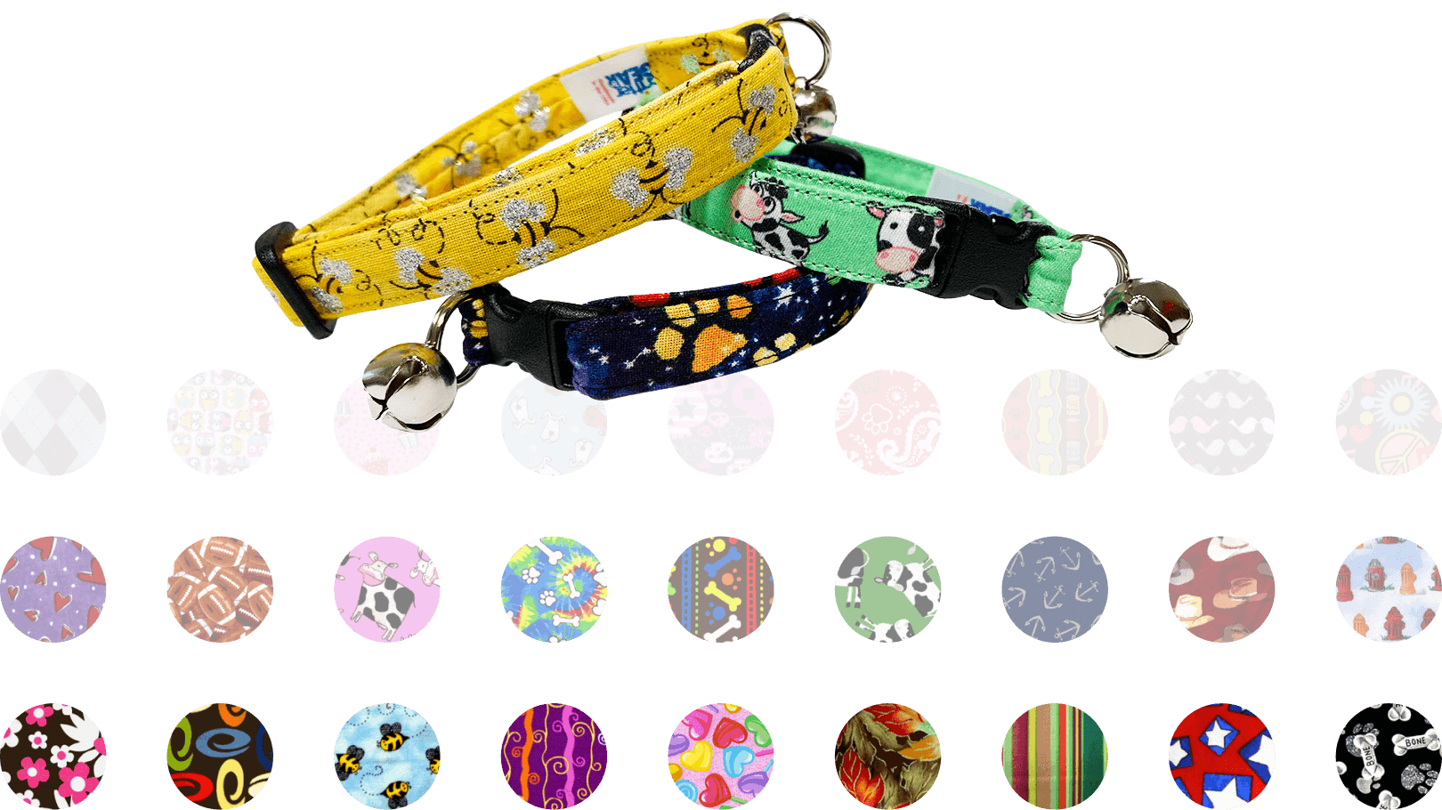 critter gear - collars and swatches
