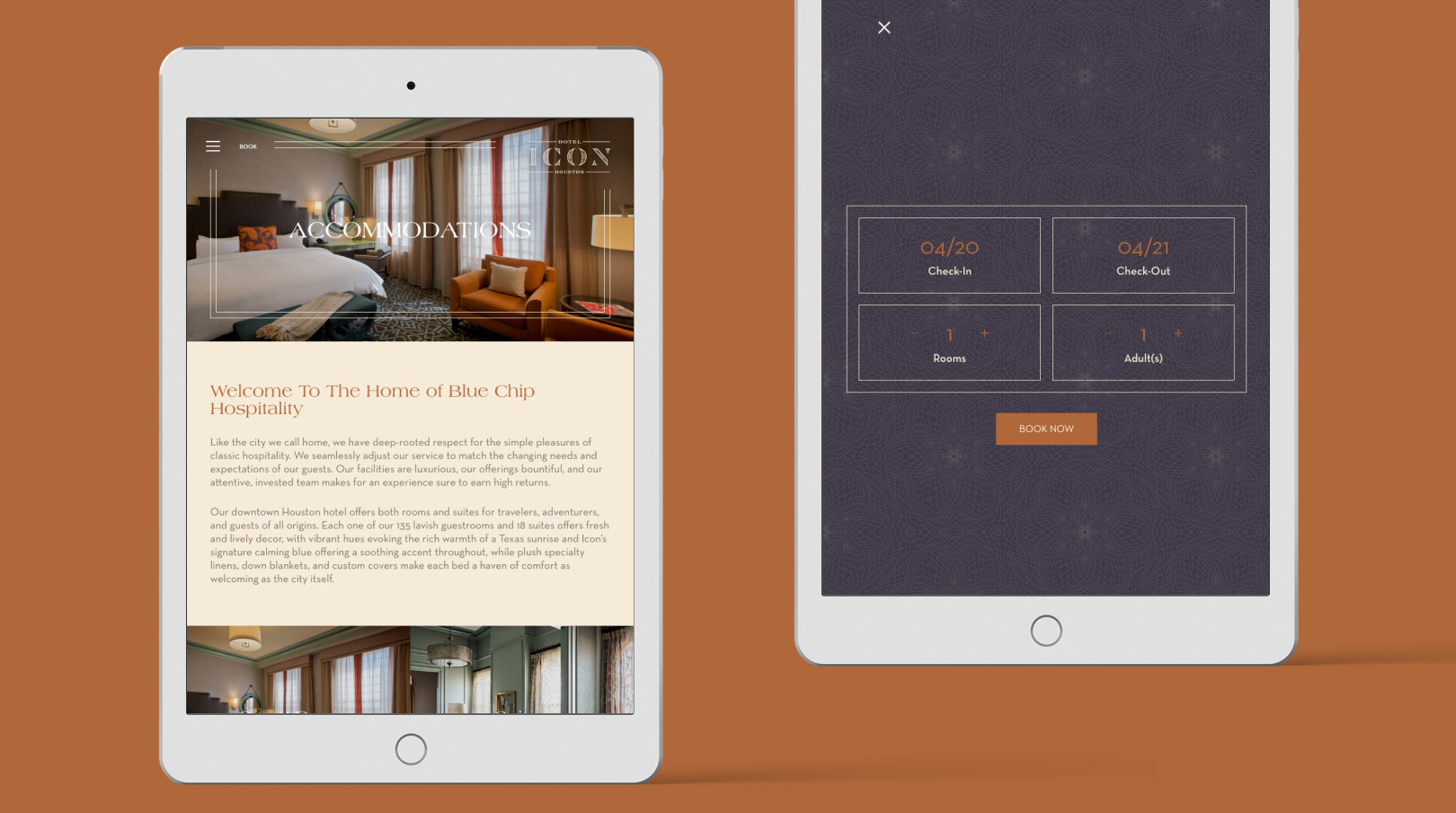 Hotel Icon Booking Widget