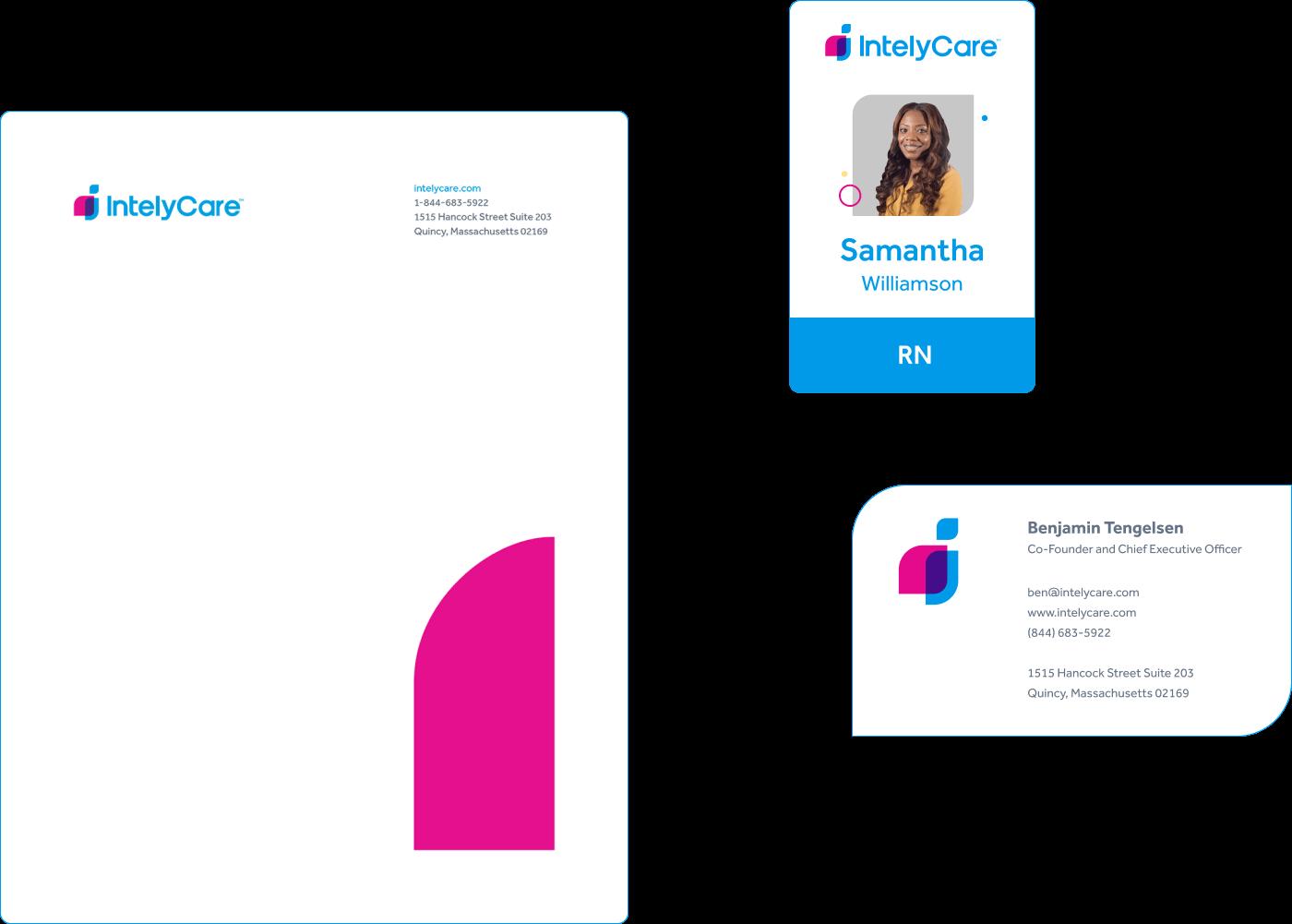 IntelyCare - Branding