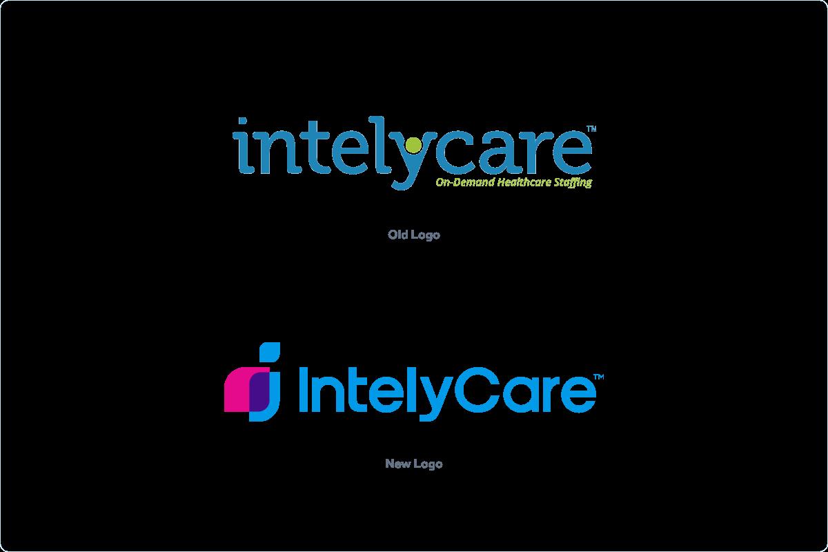 IntelyCare - Logo Transformation