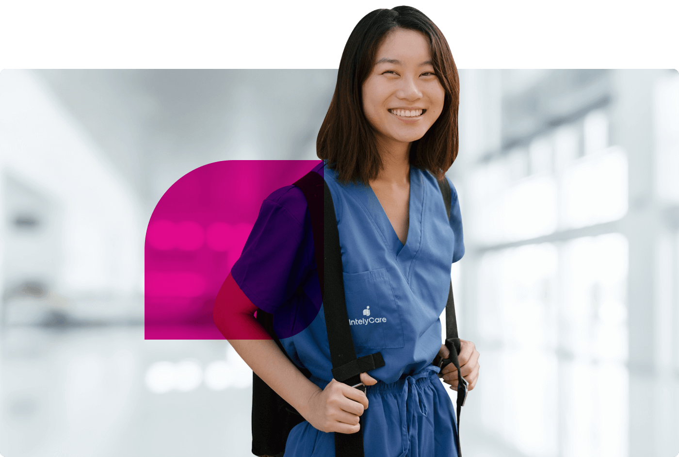 IntelyCare - Nurse with cape