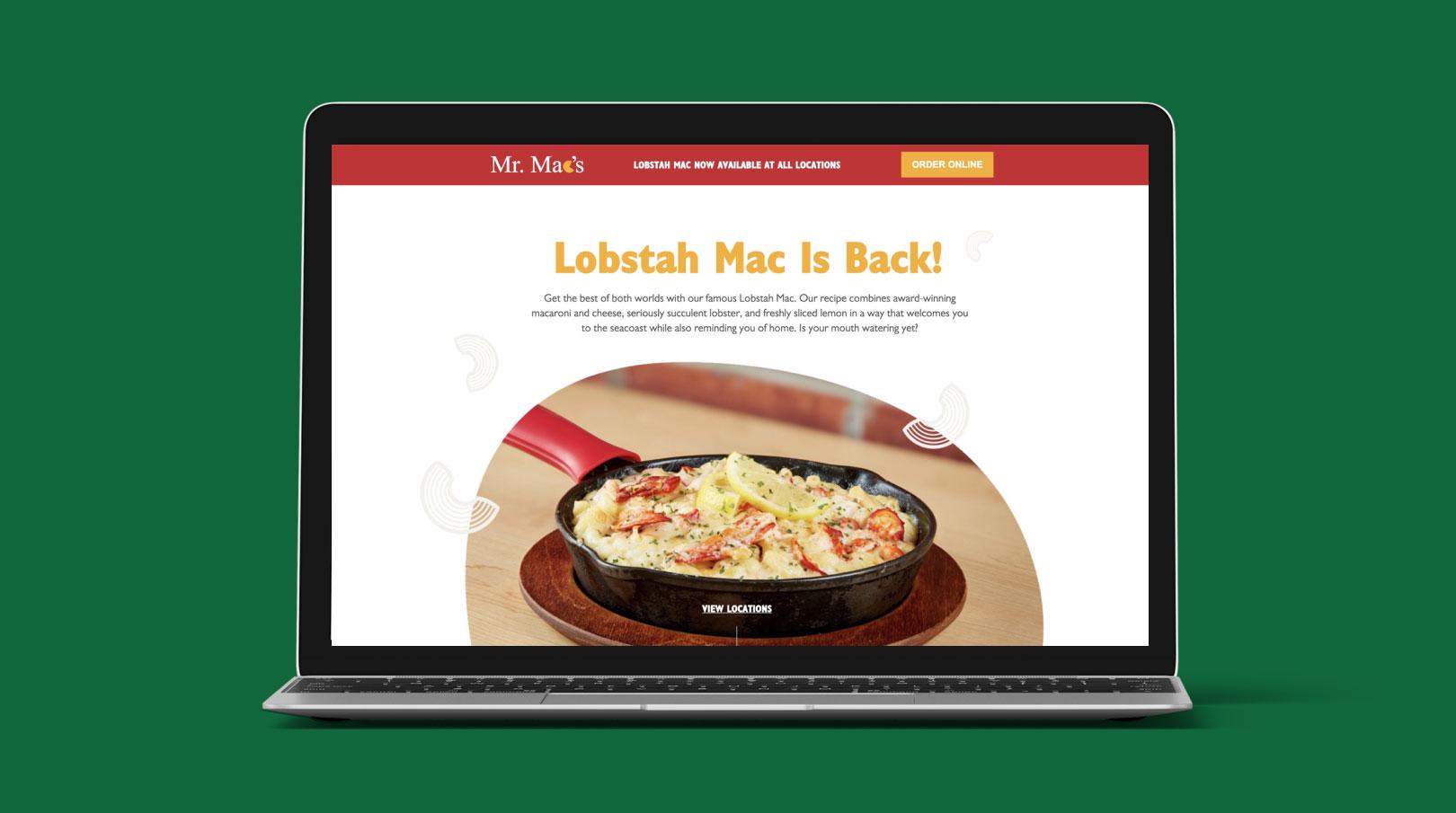 Mr. Mac's Landing Page