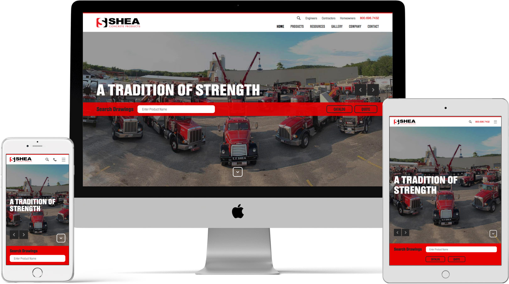 Shea Concrete Responsive Devices
