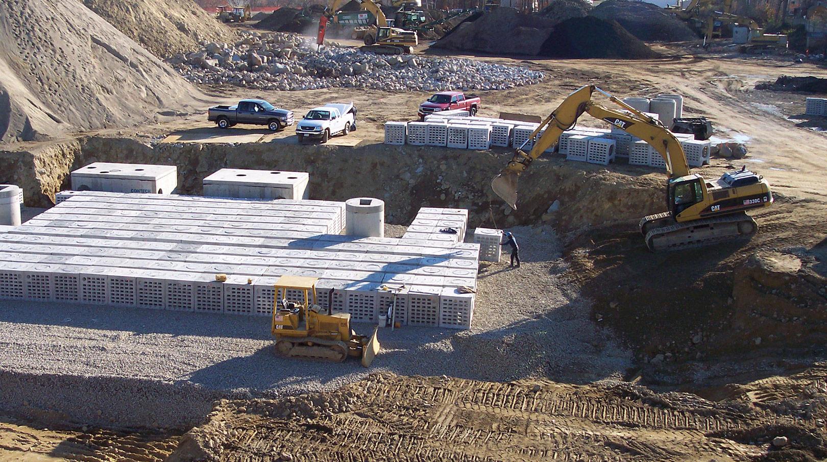 Shea Concrete Installation