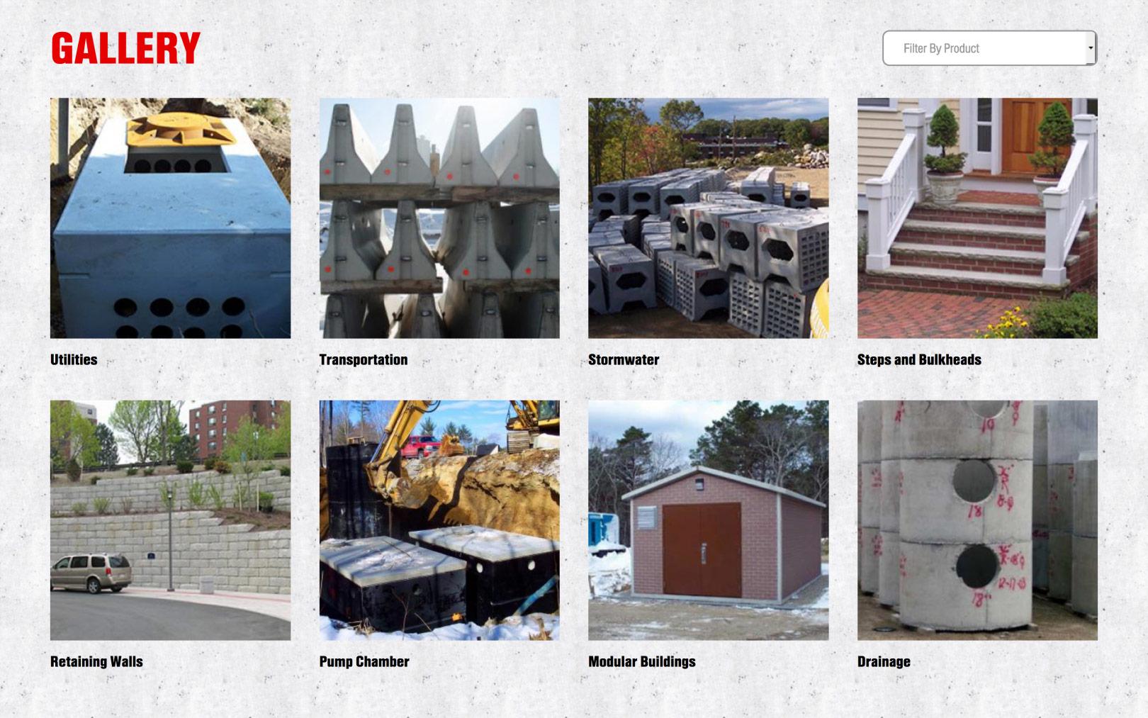Shea Concrete Gallery