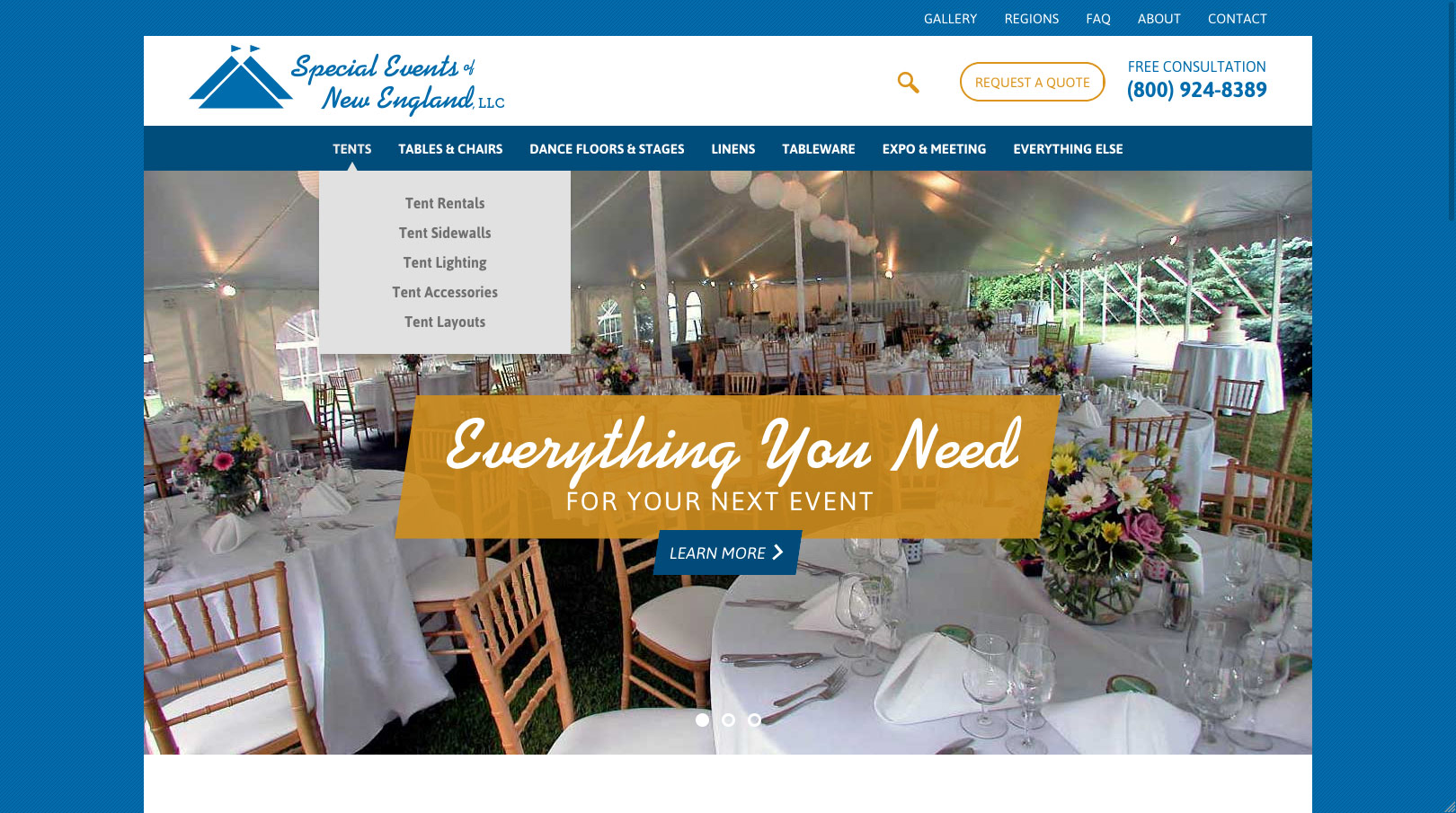 Special Events Home