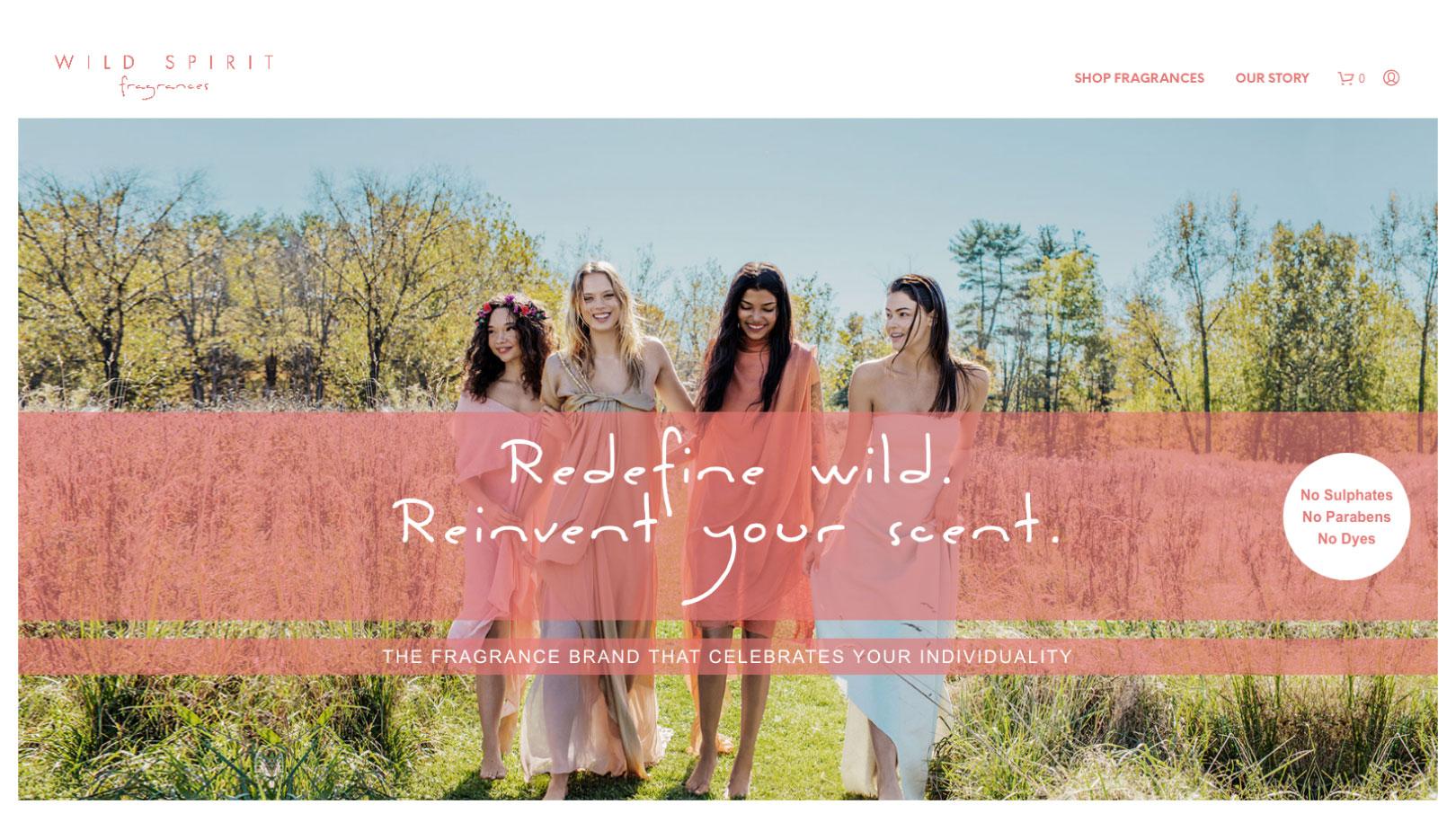 Wild Spirit Home Page